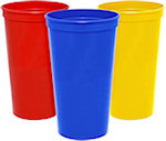 32oz Blank Smooth Stadium Cups